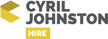 Cyril Johnston Hire Logo