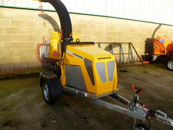 750KG Fast Tow Wood Chipper