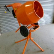 1/2 Bag Electric Cement Mixer
