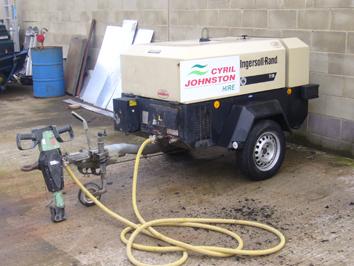 140cfm Towable Compressor