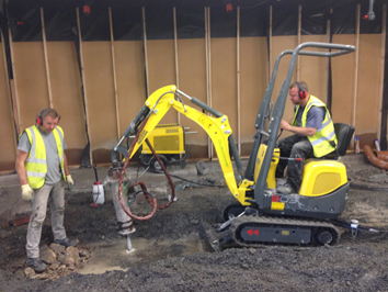 Electric Powered Micro Digger