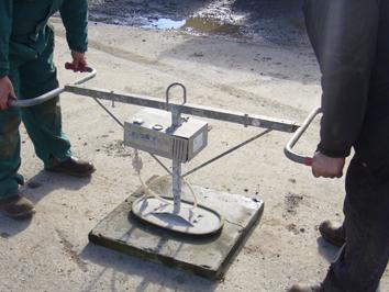Pedestrian Vacuum Lifter