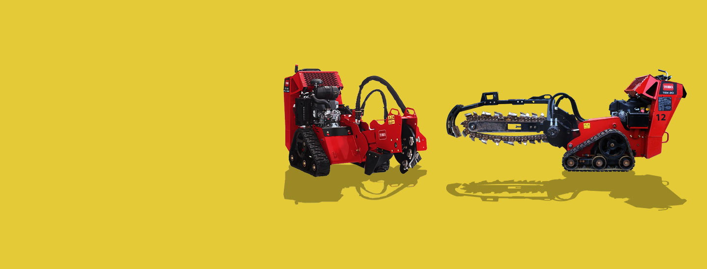 Stump Grinder equipment hire