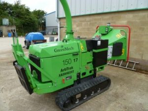Greenmech Tracked Chipper