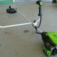 Battery Powered Strimmer