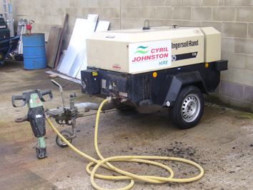 140cfm Towable Compressor