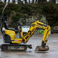 Doorway Mini Digger 1 Ton